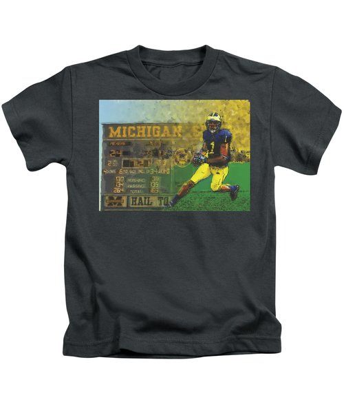 Scoreboard Plus Kids T-Shirt by John Farr
