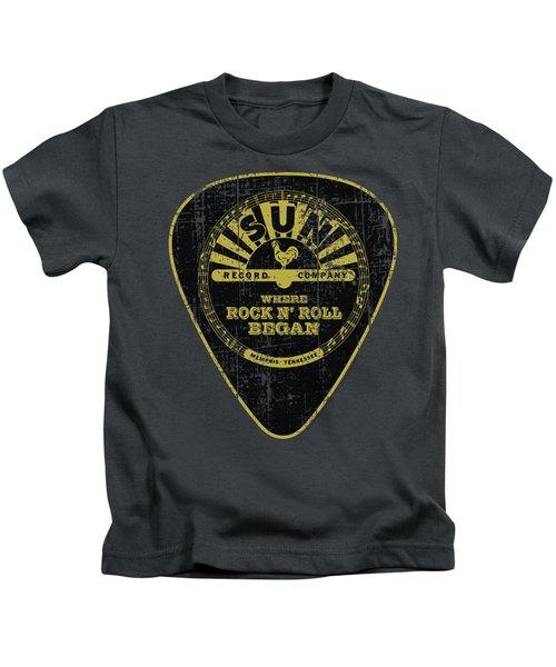Sun - Guitar Pick Kids T-Shirt by Brand A