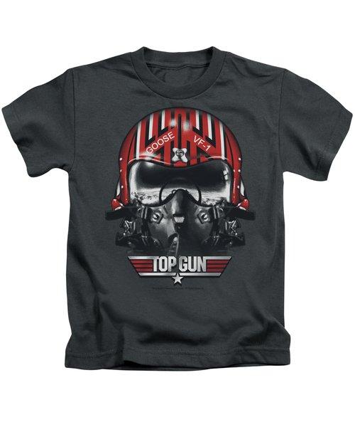Top Gun - Goose Helmet Kids T-Shirt by Brand A