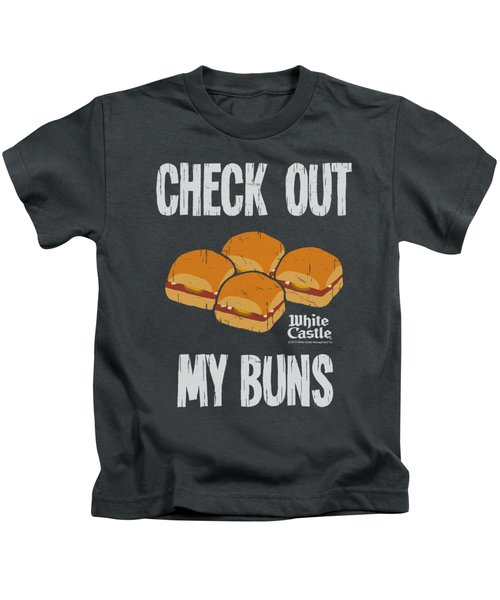White Castle - My Buns Kids T-Shirt by Brand A