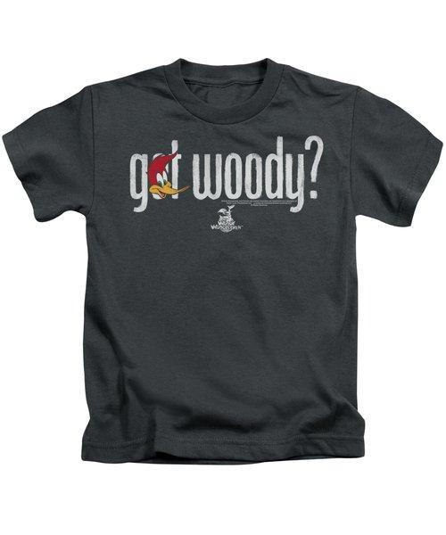 Woody Woodpecker - Got Woody Kids T-Shirt by Brand A