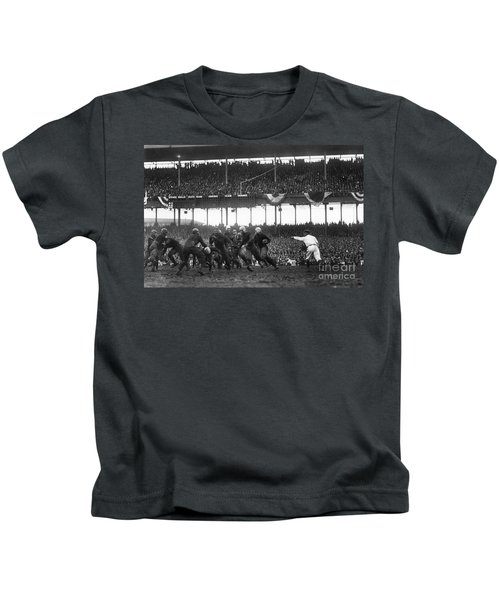Football Game, 1925 Kids T-Shirt by Granger