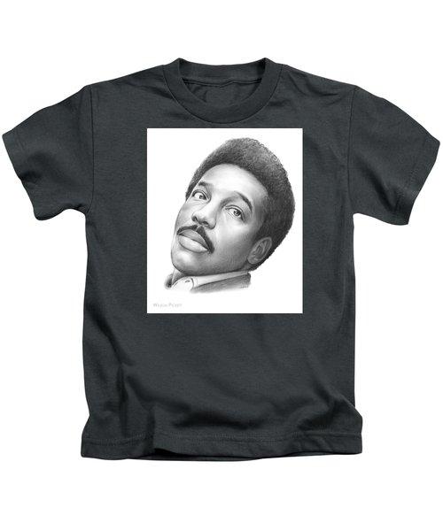 Wilson Pickett Kids T-Shirt by Greg Joens