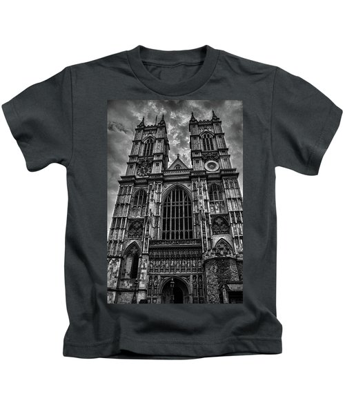 Westminster Abbey Kids T-Shirt by Martin Newman