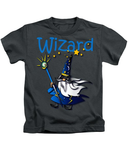 Wizard Kids T-Shirt by Jean Habeck