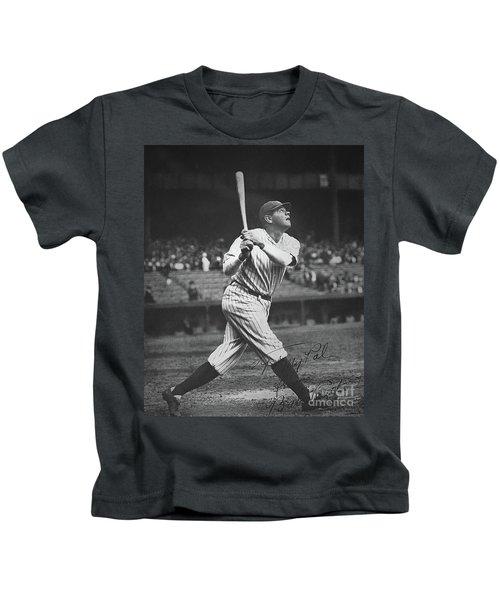Babe Ruth  Kids T-Shirt by American School