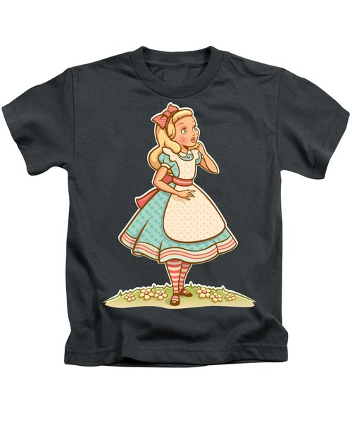 Alice Kids T-Shirt by Elizabeth Taylor