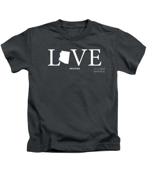 Az Love Kids T-Shirt by Nancy Ingersoll