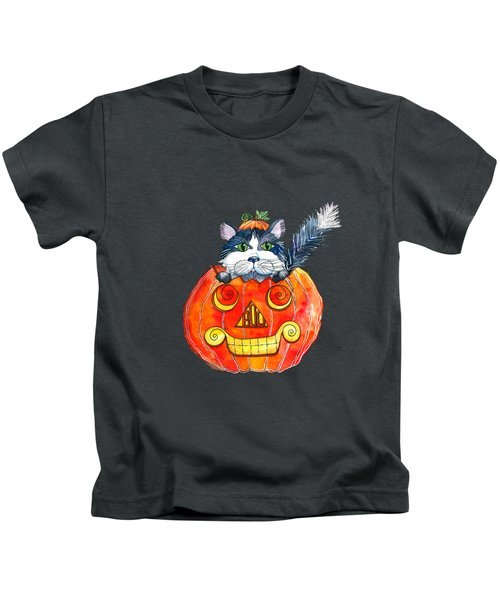 Boo Kids T-Shirt by Shelley Wallace Ylst