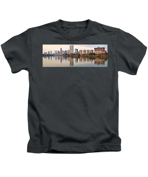 Austin Elongated Kids T-Shirt by Frozen in Time Fine Art Photography