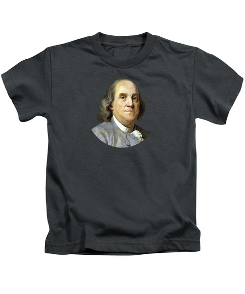 Benjamin Franklin Kids T-Shirt by War Is Hell Store