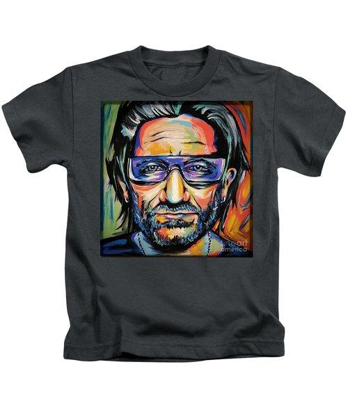 Bono Kids T-Shirt by Amy Belonio