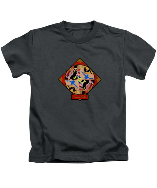 Celebrity Shapes Kids T-Shirt by Norman Twisted