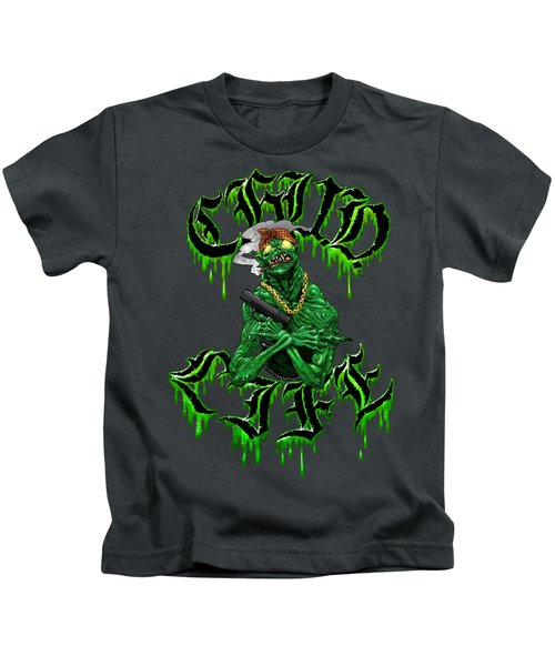 C.h.u.d. Life Kids T-Shirt by Kelsey Bigelow