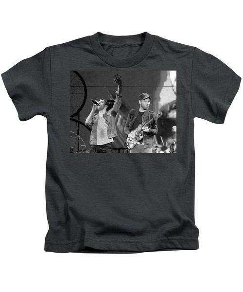 Coldplay 14 Kids T-Shirt by Rafa Rivas