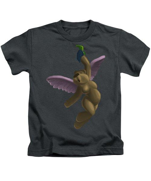 Cupid Bear 4 Kids T-Shirt by Jason Sharpe