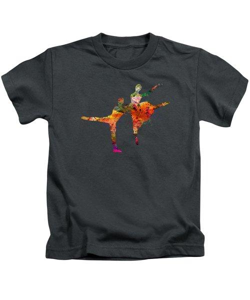 Dancing Queen Kids T-Shirt by Mark Ashkenazi