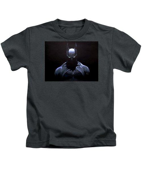 Dark Knight Kids T-Shirt by Marcus Quinn