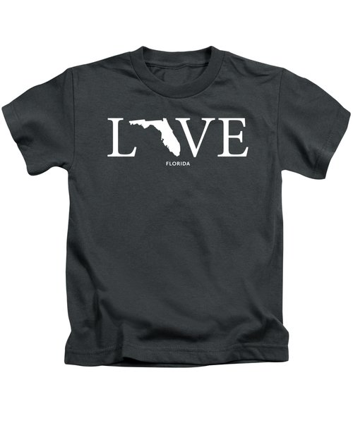 Fl Love Kids T-Shirt by Nancy Ingersoll