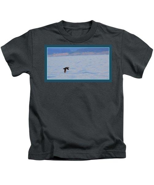Flying Rhino Kids T-Shirt by BYETPhotography