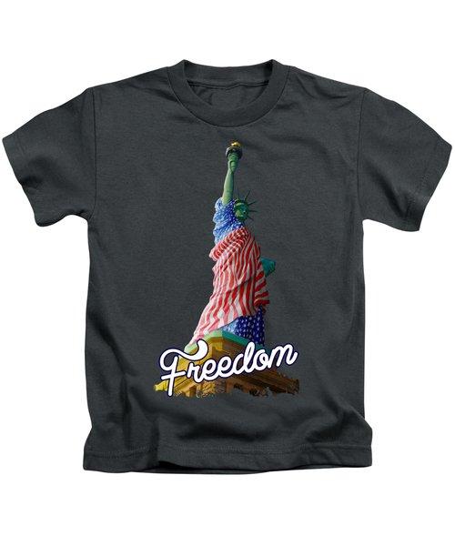 Freedom Kids T-Shirt by Anthony Mwangi