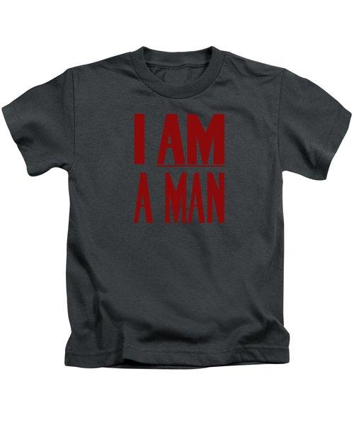 I Am A Man Kids T-Shirt by War Is Hell Store