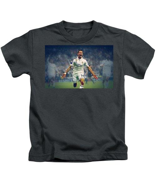Javier Hernandez Balcazar Kids T-Shirt by Semih Yurdabak
