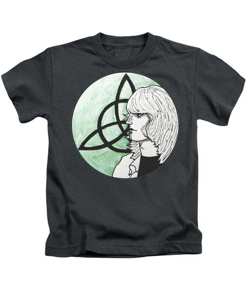 John Paul Jones Kids T-Shirt by Sofia Vyalykh