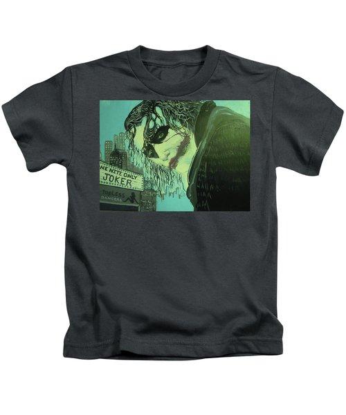 Joker Kids T-Shirt by Scott Murphy