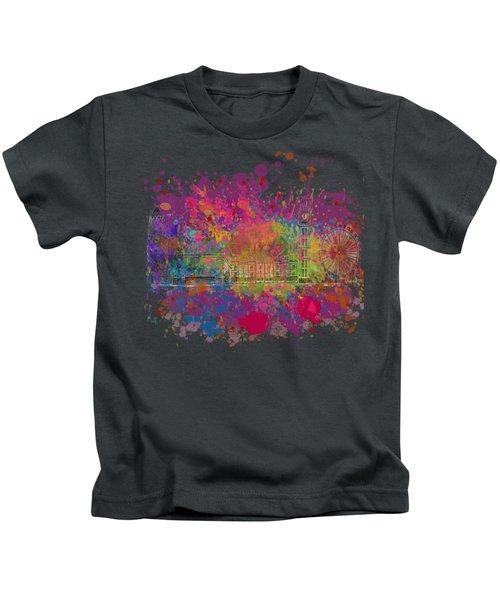 London Colour Kids T-Shirt by Dave H