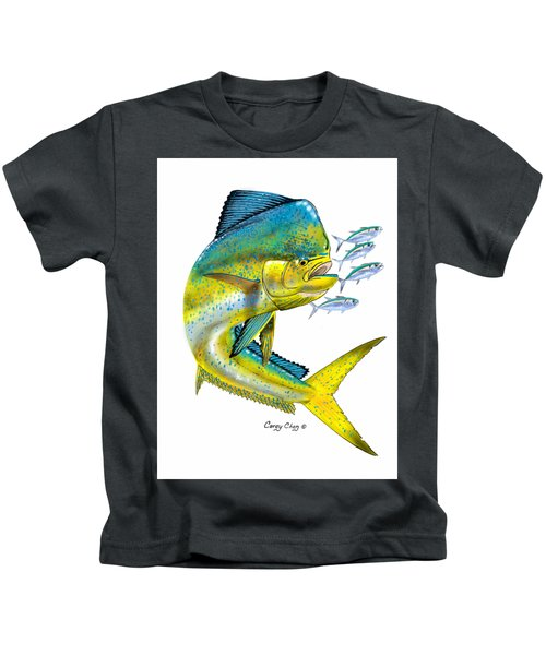 Mahi Digital Kids T-Shirt by Carey Chen