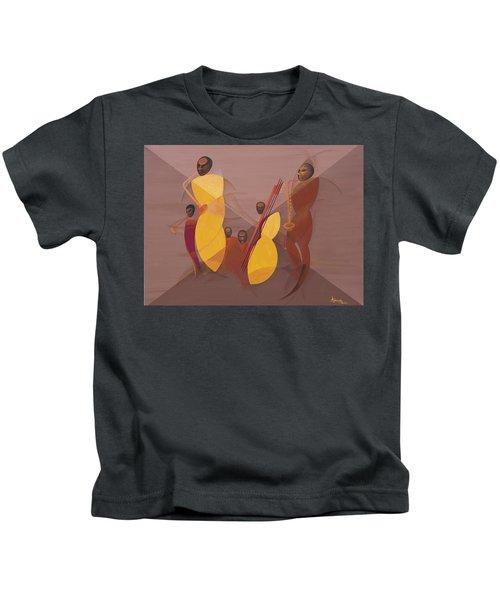 Mango Jazz Kids T-Shirt by Kaaria Mucherera