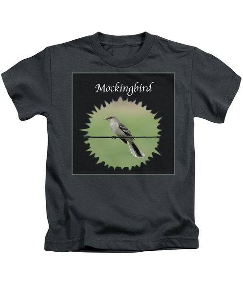 Mockingbird      Kids T-Shirt by Jan M Holden