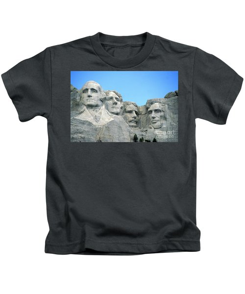 Mount Rushmore Kids T-Shirt by American School