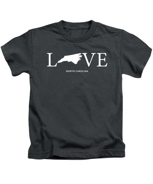 Nc Love Kids T-Shirt by Nancy Ingersoll