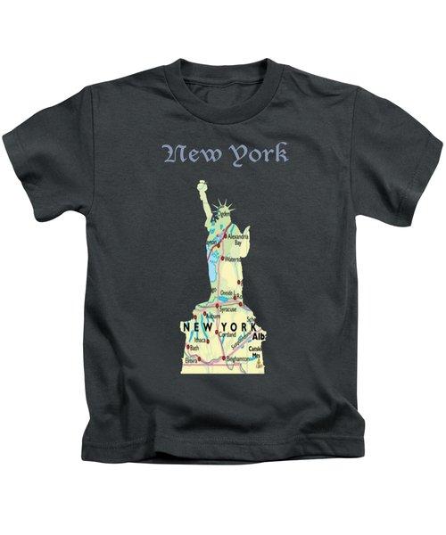 New York Kids T-Shirt by Art Spectrum