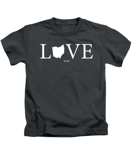 Oh Love Kids T-Shirt by Nancy Ingersoll