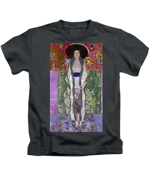 Portrait Of Adele Bloch-bauer II Kids T-Shirt by Gustav Klimt