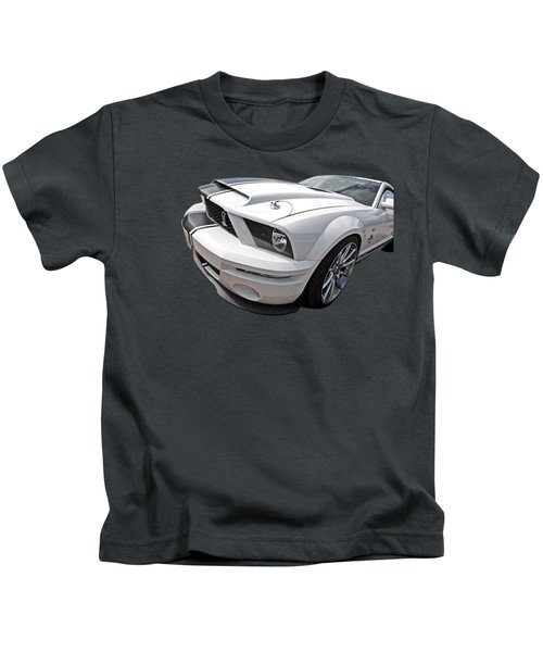 Sexy Super Snake Kids T-Shirt by Gill Billington