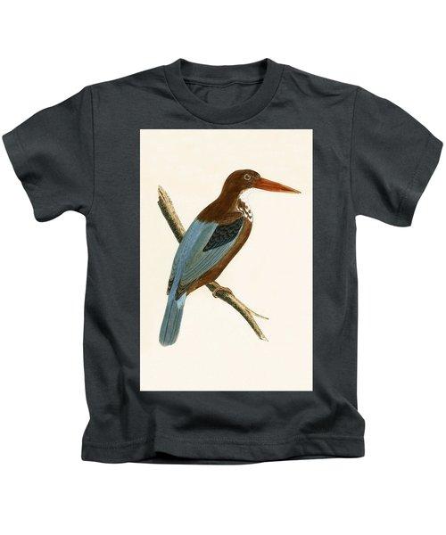 Smyrna Kingfisher Kids T-Shirt by English School