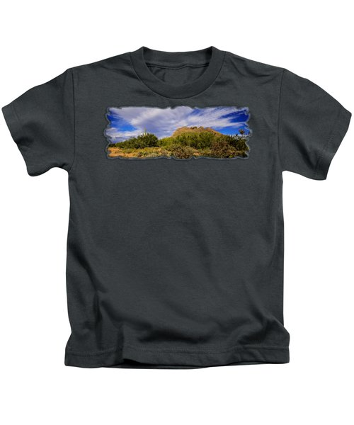 Southwest Summer P12 Kids T-Shirt by Mark Myhaver