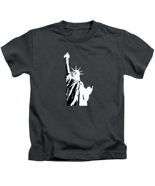 Statue Of Liberty #2 Kids T-Shirt by Frederick Holiday