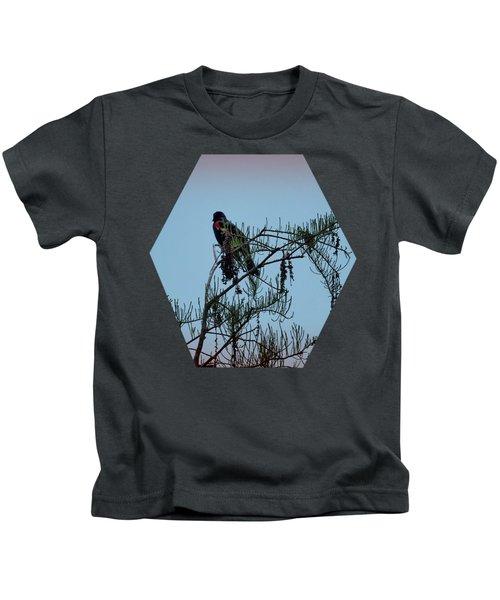 Stillness Kids T-Shirt by Jim Hill