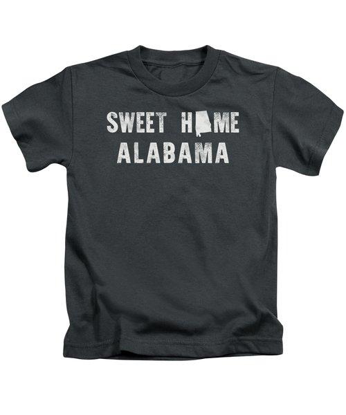 Sweet Home Alabama Kids T-Shirt by Nancy Ingersoll
