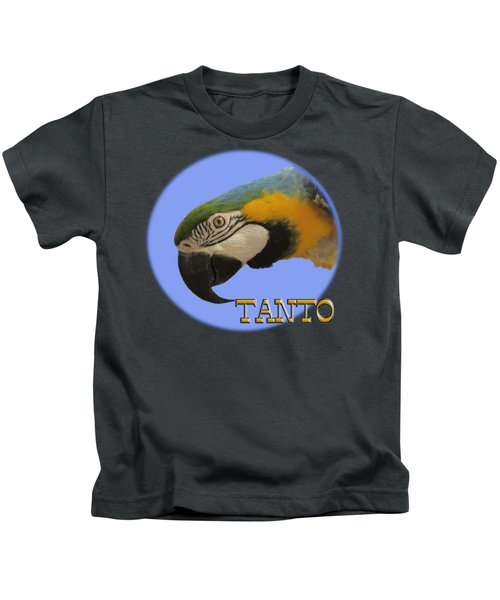 Tanto Kids T-Shirt by Zazu's House Parrot Sanctuary