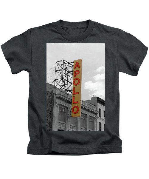 The Apollo In Harlem Kids T-Shirt by Danny Thomas