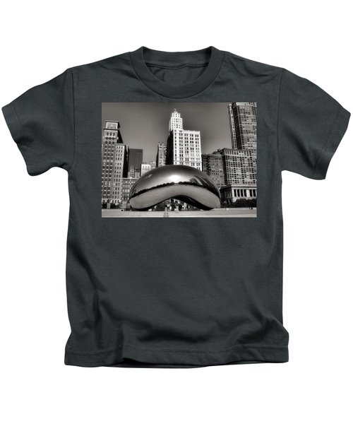 The Bean - 3 Kids T-Shirt by Ely Arsha