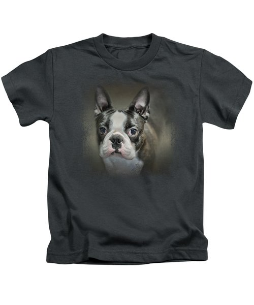 The Face Of The Boston Kids T-Shirt by Jai Johnson
