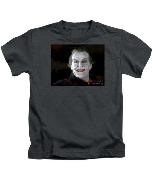 The Joker Kids T-Shirt by Paul Tagliamonte