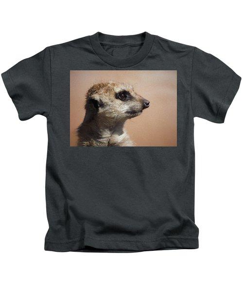 The Meerkat Da Kids T-Shirt by Ernie Echols